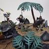 Rockets Away!!! (Nilbog Bricks) Tags: halo mega construx bloks moc minifigures minifig custom battlescape covenant unsc wars war battle alien