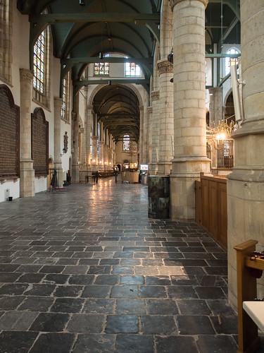 Interieur St. Janskerk Gouda