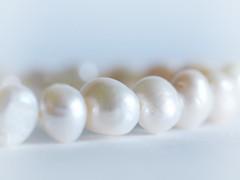 A String of Pearls (PrunellaCara) Tags: macromondayinspiredbyasong pearls white lustre stilllife closeup jewellery