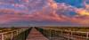 Jetty Sunrise Largs Bay (johnwilliamson4) Tags: adelaide blue clouds jetty largsbay pink southaustralia sunrise yellow australia au beacheslandscapes