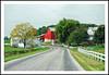 Ohio Amish Backroad and Farms for Fence Friday (sjb4photos) Tags: ohio ohioamishcountry road farm redbarn fence fencefriday hff