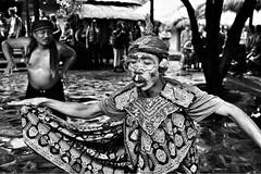 Dancers in Lombok, Indonesia, August 16 (paola ambrosecchia) Tags: blackandwhite street asia dancers bnw amazing portrait biancoenero monochrome men face