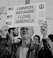 The Universal Message... (tvdflickr) Tags: georgia atlanta usa march womensmarchforjustice protest man male men sign placard demonstrator