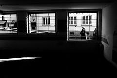 From inside out (Leica M6) (stefankamert) Tags: meinfilmlab wwwmeinfilmlabde stefankamert street dark black bw baw sw leica m6 leicam6 rangefinder people blackandwhite blackwhite schwarzweis kodak trix voigtländer nokton 35mm film analog noir noiretblanc monochrome