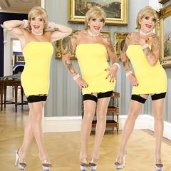 home14217-19 (Ann Drogyny) Tags: shoes legs heels crossdress crossdresser crossdressing cd tv tg ts transvestite transgender transsexual tranny tgirl glamour pinup mature cute sexy stockings nylons suspenders garters