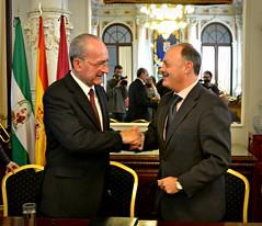 El ayuntamiento firma acuerdo de colaboración con Iberia para los Juegos Mundiales de Transplantados