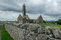Ireland - Clare County - Monastery of Kilmacduagh (viaggiatore16) Tags: ireland irland travel travelphoto travelphotography nikon church history countyclare monastery