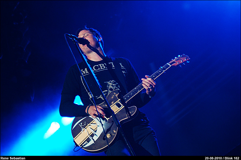 Blink 182 @ Lowlands 2010