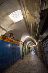 (Alex Brey) Tags: street night alley market jerusalem oldcity