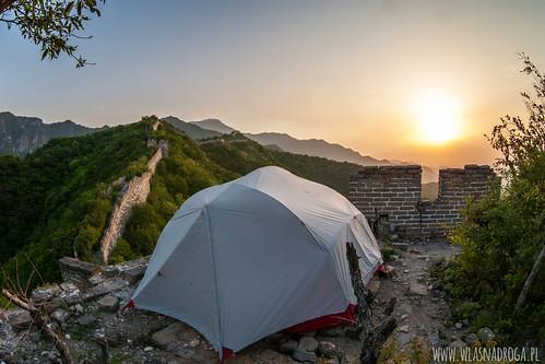 Nocleg na Murze Chińskim