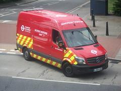 London Buses IRU unit LX64AOZ  Sutton Green 05/06/15. (Ledlon89) Tags: bus london transport surrey sutton londonbus tfl londongeneral goaheadlondon bsues