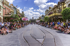I'm Walking Right Down The Middle of Main Street, USA (Jessie Chaisson) Tags: world street people usa jessie photography main disney walt chaisson