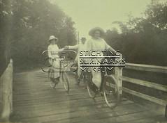 Groepsportret op de fiets