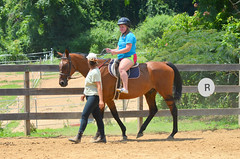 2014-07-18 (24) at Miss Nicole's (JLeeFleenor) Tags: md croom instructor healing farm family riding lessons youth activities sport instructions animals friends friendly therapeutic compassion compassionate patience dedicated missnicole maryland
