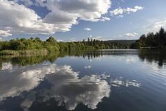 Riverside Park Reflections (LifeLover4) Tags: river spokane washington reeds reflections clouds tranquil circularpolarizer hughstickney stickneydesign
