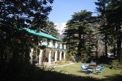 front view, hotel