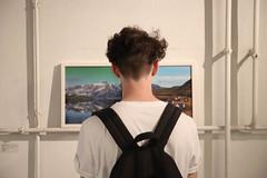 photoset: das weisse haus: die weisse ab–haus–verkaufs–kunstschau #4 (26.6.-11.7.2015, Eröffnung)