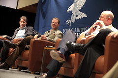 Roger Ream, Jeff Deist & Lawson Bader (Gage Skidmore) Tags: jeff reed liberty for dc washington lawrence university catholic young national larry convention americans roger bader lawson ream frazee 2015 deist