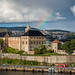 Akershus Fortress with Rainbow