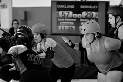 oak_vs_resist_L1060149 1 (nocklebeast) Tags: ca usa rollerderby rollergirls richmond skates bayareaderbygirls badg oaklandoutlaws richmondwreckingbelles va0001991072 effectivedateofregistrationaugust152015 va1991072
