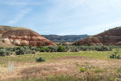 My First Look at the Painted Hills (BrendanMcGarry) Tags: 2016 brendanmcgarry highdesert johndayfossilbedsnationalmonument oregon paintedhills wingtriporg