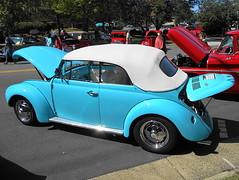 1971 Volkswagen Beetle Convertible (splattergraphics) Tags: 1971 volkswagen beetle convertible vw volksrod carshow fairfaxlabordaycarshow fairfaxva