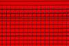 Fence before red wall (Jan van der Wolf) Tags: map163146v fence hek hekwerk red rood redrule wall muur abstract lines lijnen lijnenspel interplayoflines monochrome monochroom