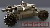Gecko MBT 1 (Gamabomb) Tags: tank mbt