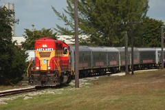 Pulling Out in Style (tolga_boy) Tags: fec florida east coast rbbx ringling brothers barnum bailey circus train miami ussc us sugar trirail southcentralfloridaexpress sugarcane