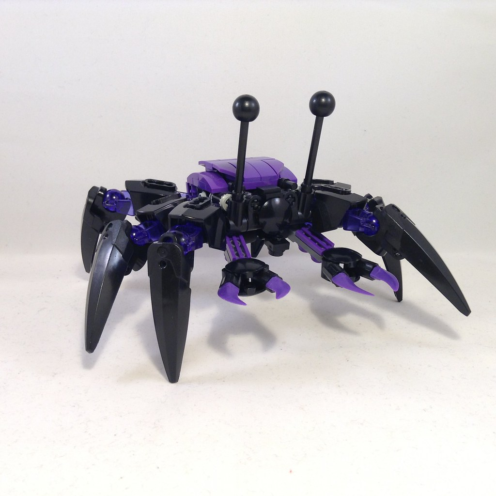LEGO Bionicle MOC: Gold Spider - YouTube