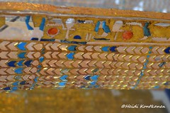 Golden Hieroglyphs (konde) Tags: 18thdynasty newkingdom kv55 coffin mummycoffin gilded hieroglyphs treasure art amarna