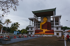 Weherahena Temple (runovv) Tags: srilanka india nature sky skyscape clouds buddha buddhist religion sacred temple church statue