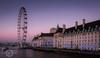 """ Dusk Drawing In "" (SJAviation.net) Tags: westminster londoneye nikon london longexposure thecity nightshoot nightphotography victoriaembankment"