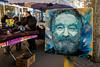 C215 : Robin Williams (dprezat) Tags: c215 robinwilliams williams cinéma movie vincennes festivalamerica boîteauxlettres postes street art graffiti tag fresque pochoir peinture aérosol bombe painting nikon nikond800 d800 christianguémy