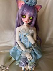 Glam Cat (Pullipprincess) Tags: bjd abjd luts kiddelf kidzuzudelfcorni delf zuzu corni cute kawaii balljointeddoll asianballjointeddoll indoor doll dolls