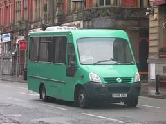 Destinations GN08VRU Victoria St, Liverpool (1280x960) (dearingbuspix) Tags: railreplacement wirrallooplinetrackrenewal destinations gn08vru
