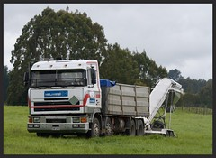 Helicopter supplies (SemmyTrailer) Tags: foden truck lorry tipper helihire 4000 newzealand