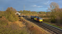 60002 at Curdworth (robmcrorie) Tags: 60002 curdworth colas class 60 6z48 immingham long marston water train rail tank storage orton freight railfan warwickshire