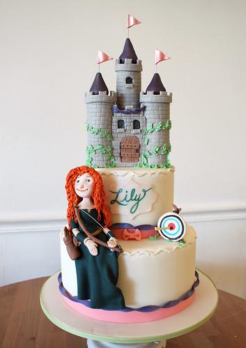Merida Castle Cake
