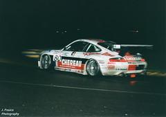 Le Mans 2001 – Porsche 911 GT3-R (Javier Frauca) Tags: car carreras resistencia sport velocidad endurance race motorsport 24 heures hours lemans le mans 2000 porsche 911 gt3r porsche911gt3r nikon f80