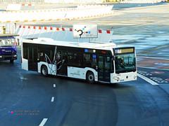 Mercedes Citaro C2 - ADP (Aeropass 72255) (Pi Eye) Tags: bus autobus roissy cdg aéroport adp parisaéroport aeropass transdev airfrance mercedes o530 citaro c2