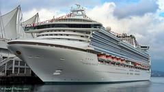 "Princess Cruises' ""Diamond Princess"" (IMO 9228198) @ Canada Place, Vancouver, BC - c2007 [© Mr DOT] (mrdot.) Tags: vancouvercruiseships canadaplace princesscruises mrdot alaskacruise"