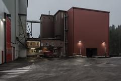 Mill, modern side (AstridWestvang) Tags: architecture building industry lågenarea mill silos vestfold