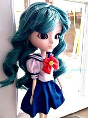 Michiru Kaioh (MichiruPLANET) Tags: michirukaioh uniform sailorneptune pullipdoll photography princess picture pullip usagi