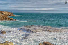 ''Exposed'' (marcbryans) Tags: portlandbill dorset seascape waves cliffs coast power rock tide outdoors ocean stone jurassic nikond7100 nikkor18200mm