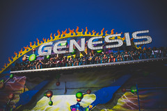 South Florida Fair | 2017 (rmehdee) Tags: southfloridafair southflorida ride genesis day kids fun blue art colors canon action outdoor amusement joy flame green people