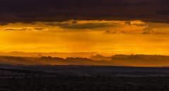 Yellow sky (7,000k views!) (Fil.ippo) Tags: sunset panorama yellow utah tramonto giallo canyonlands filippo ladscape d7000 filippobianchi