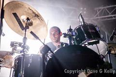 Jeremy Hyman at NOS Primavera Sound (Dave G Kelly) Tags: portrait music primavera portugal festival drums porto drummer primaverasound dandeacon jeremyhyman nosprimaverasound