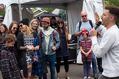 Mark Mills @ Lukes Drug Mart Pre-Fest Party. 2015 Sled Island. (Sled Island Photo) Tags: music canada calgary kids outdoors photo concert audience alberta 2015 markmills sledisland davidkenney lukesdrugmart