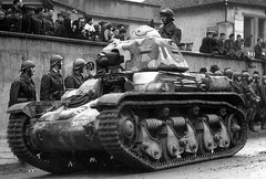 Polish Army's French made tank R-36